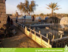 گزارش تصویری ساخت منزل برای ایتام در منطقه محروم قلعه گنج (بروز رسانی شده)