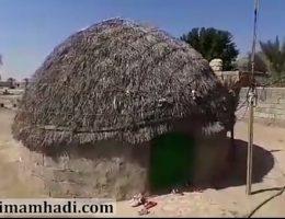گزارش ساخت منزل برای خانواده ای با دو فرشته درجنوب کرمان(روستای سورگ آباد)