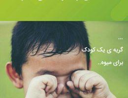 داستان واقعی یکی از خانواده های ایتام(گریه یک کودک برای میوه)