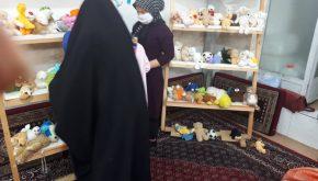برگزاری نمایشگاه یک روزه برای فرشته های کوچک در جمعه ۱۴ آذرماه ۱۳۹۹