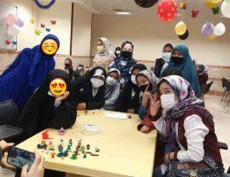 گزارش جشن دانشجویان دانشگاه علوم پزشکی قم برای بچه ها